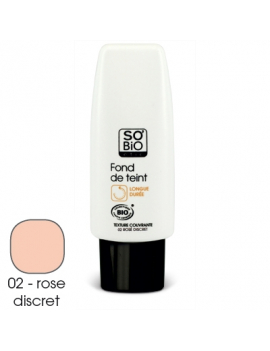 Fond de teint rose discret 30mL SO'BiO étic